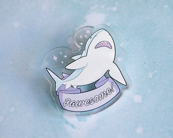Great White Shark Brooch