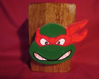 Bank--Wooden Ninja Turtle Bank, Handmade