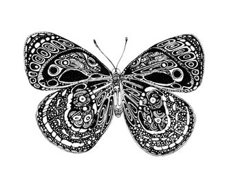 Art print 'Butterfly Surprise'