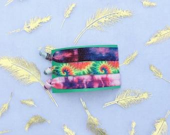 Psychedelic Hair Tie Set