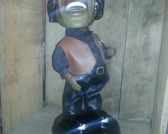 James Brown figure animated