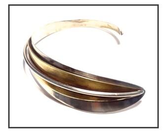 COLLAR neck /Collier RAZ Bronze 70s.