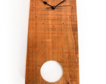 Clock wood - natural wood
