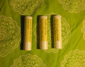 Natural Lip Balm, Vanilla Scent  0.15 oz