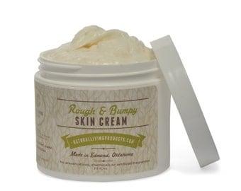 All Natural Diaper Rash Cream / Rough & Bumpy Skin Cream