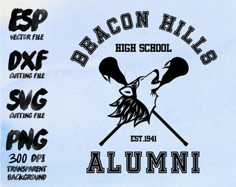 Bacon Hill high school Alumni Clipart , SVG Cutting , ESP Vectors files , T shirt , iron on , sticker ,Personal Use