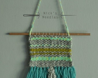 Spring Greens Wall Hanging, Small