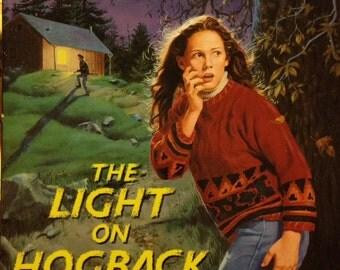 The Light on Hogback Hill, 1995 paperback book