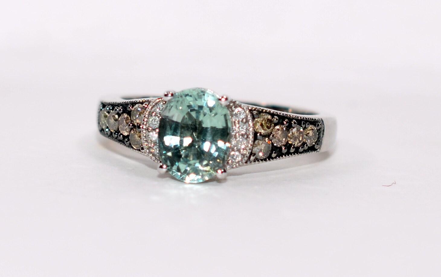 Majestic Levian 2 60tcw Paraiba Tourmaline Amp Diamond 14kt