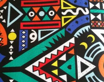 Multicolored pocket square. colorful pocket square