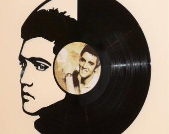 Elvis Vinyl Record Wall Art