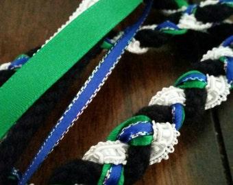 Handfasting cord, custom made,  alternative wedding, pagan wedding,  tie the knot, celtic wedding,