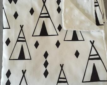 Minky Pram / Bassinet Blanket