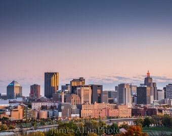 St. Paul Skyline Twin Cities Minnesota Wall art print photograph Landscape Urban photography