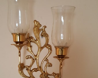 Solid Brass Vintage Wall Sconce
