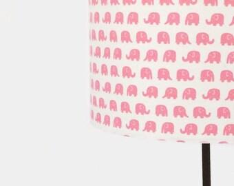 Pink Elephant Lampshade 20cm / 30cm
