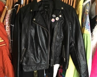 Faux Leater Jacket