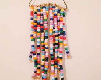 Pony Bead Wall Hanging