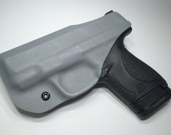 Smith & Wesson Shield 2.0 9/40 Gray  IWB Concealed Carry Kydex Holster With Adjustable Cant