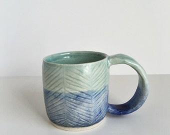 2 Tone Herringbone Mug #2