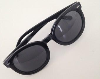 Sunglasses, Black frames with black lenses