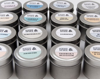 Travel Tin Candle 2oz (60ml)