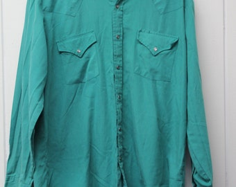 Vintage Ely Cattleman Western Shirt