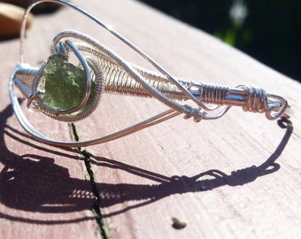Sterling Silver Wire Wrapped Bracelet - Made to Order -