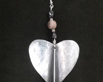Sweet Hearts Aluminum Earrings