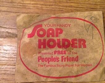 Vintage Soap Holder - Unopened and still wrapped in original wrapper
