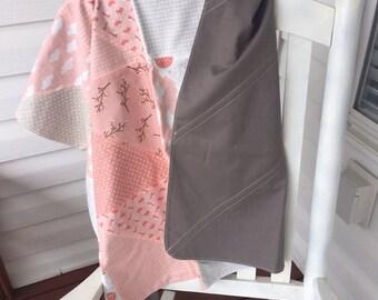 Baby Receiving Blanket-Storybook Fabric