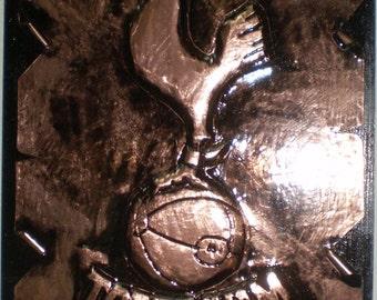 TOTTENHAM HOTSPUR Stunning Wall Copper Handmade Decoration Football Team