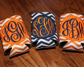 Monogrammed/Appliqued Insulated Can Holder