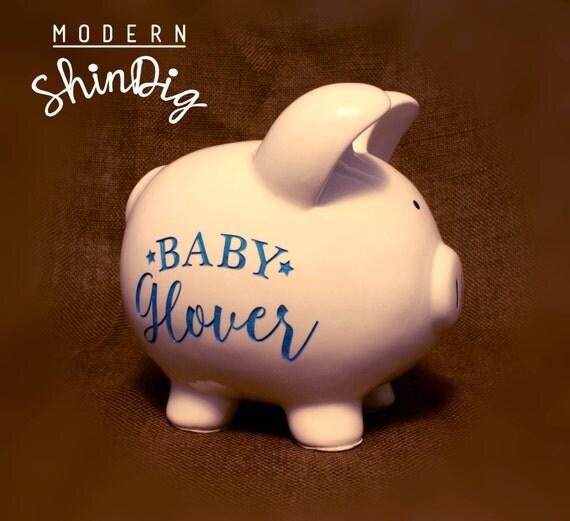 Engraved piggy bank large ceramic custom piggy bank is - Engraved silver piggy bank ...