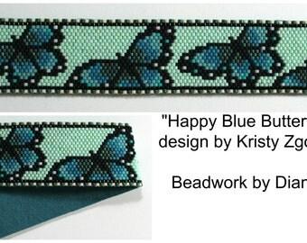 Happy Blue Butterfly bracelet