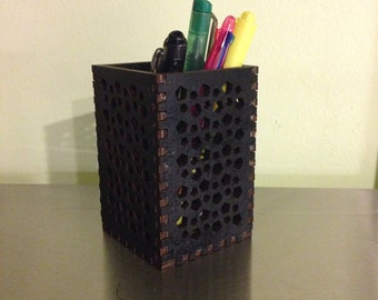 Black Pencil Holder