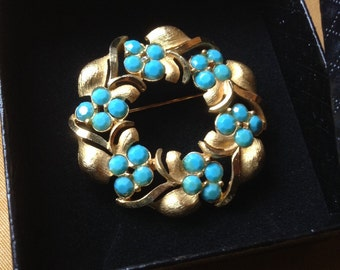 Brooch vintage style by CoroCraft 1950s