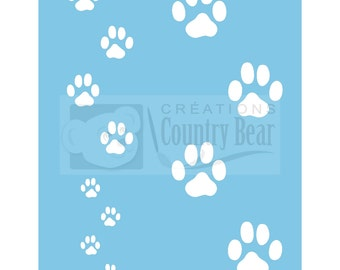 Stencil - Cat's Paws - ST-022