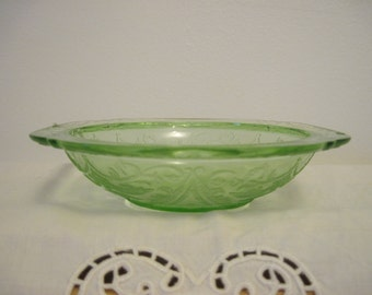 Green Madrid Pattern Sauce Bowl - Item #1112