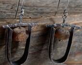 raw unpolished baltic amber earrings, baltic amber earrings,  rough silver,  raw silver, silver earrings