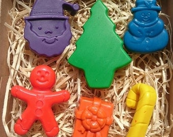Christmas crayons - perfect for Advent Calendars