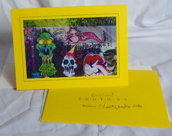 Yellow Halloween cards