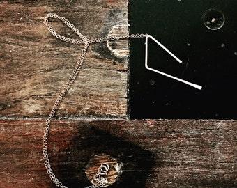 Asymmetrical / Geometric Necklace
