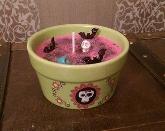 "SALE!! The ""Lineage"" Jar Candle - Honoring the dead, Ancestors & Celebrating Samhain/Halloween"