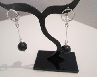 With Dumortierite 925 Sterling Silver earrings