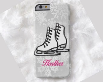 Ice Skate Cell Phone Case,  iPhone 6 case, Note 4 cell case, iPhone 6 plus cell case, iPhone 6 plus case, Galaxy Samsung S6 #980