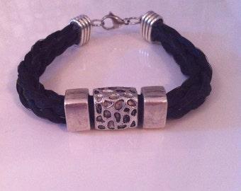 Bracelet for man in horsehair