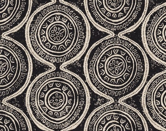 Sham Atlas Geometric Granite Black