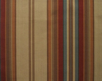 Round Tablecloth Carlton Stripe Cardinal