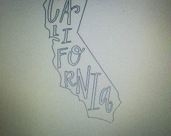 California State Sticker